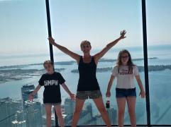 Fun at the CN Tower