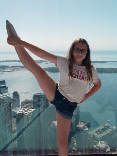 Fun at the CN Tower